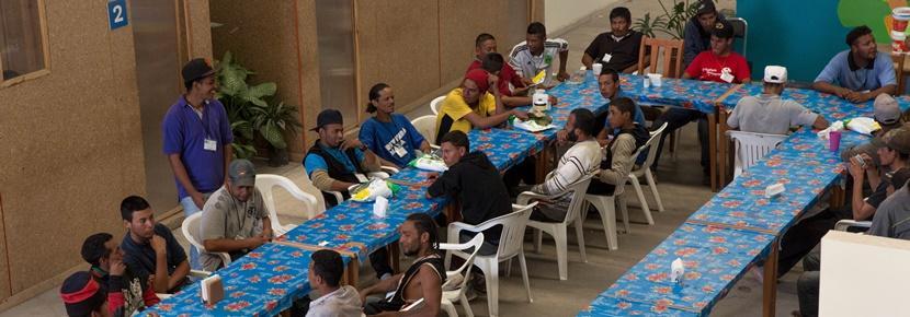 Frivillige møder lokale mexicanere