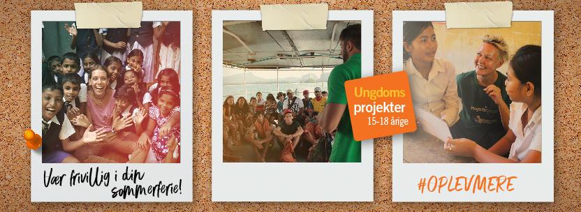 Ungdomsprojekter for 15-18 årige