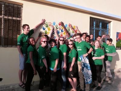 Frivillige på Ulandsophold med Projects Abroad