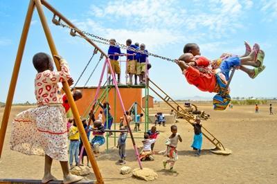 Frivillig på børnehjem