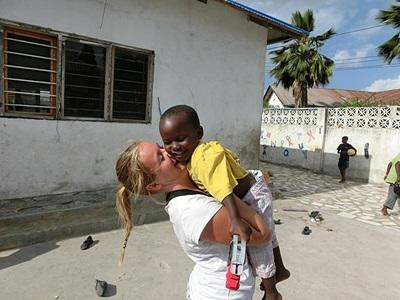 Diane Hansen, 22 år, Tanzania