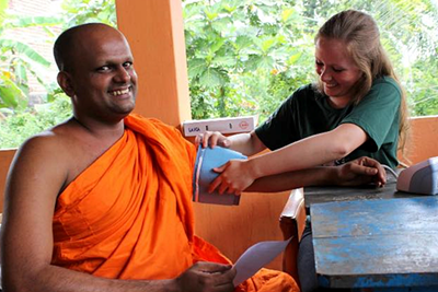 Julie Glæemose, 20 år, Sri Lanka