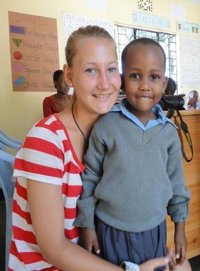 Julie Nielsen, 22 år, Tanzania
