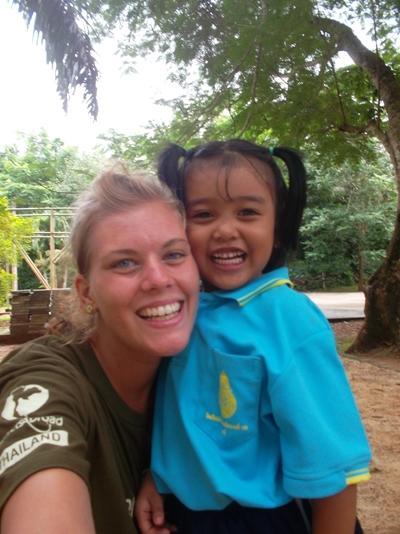 Line Engbjerg, 22 år, Thailand