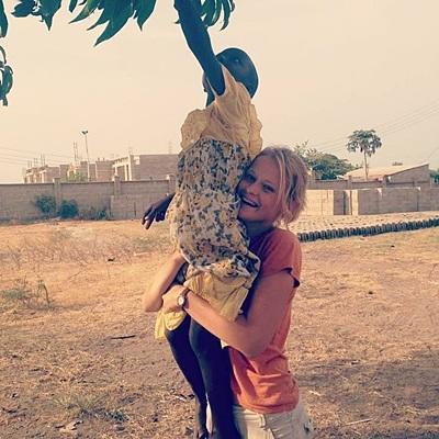 Maria Langebæk, 20 år, Tanzania