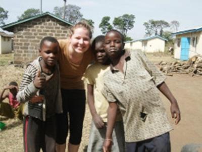 Michelle Dyrby, 22 år, Kenya