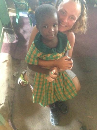Mie Seerup, 20 år, Ghana