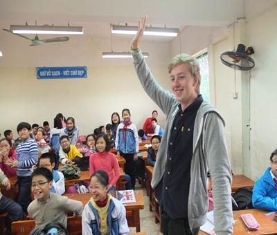 Rasmus Nyegaard, 21 år, Vietnam