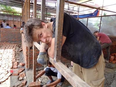 Simon Carl, 21 år, Nepal