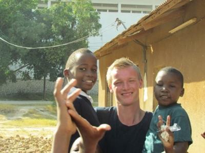 Simon Østergaard-Nielsen, 22 år, Tanzania
