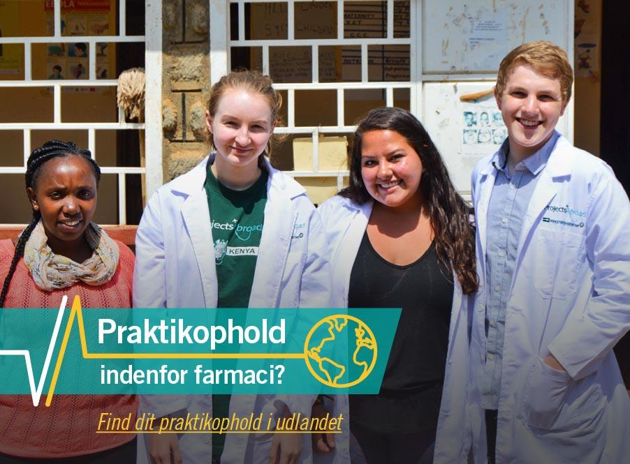 Praktikophold som farmaceut med Projects Abroad