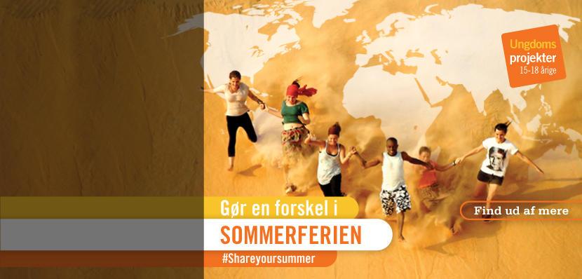 Frivilligt arbejde for unge i udlandet: 16-19 år