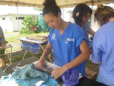 Optjen kvote 2-point som frivillig i udlandet