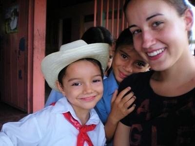 Frivillig i Costa Rica med lokale børn