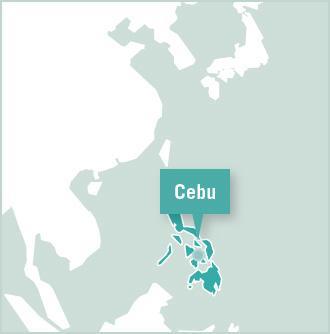 Map of Filippinerne