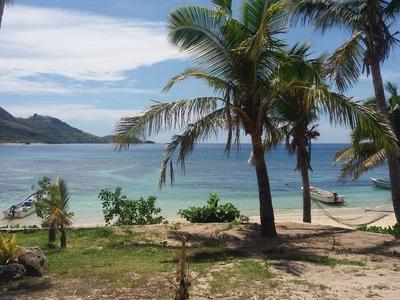 Smuk strand i Fiji