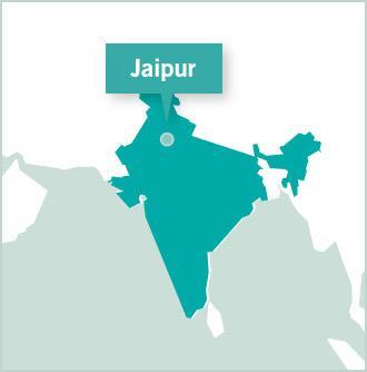 Map of Indien