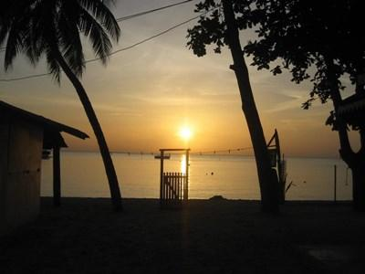 Solnedgang i Negril, Jamaica