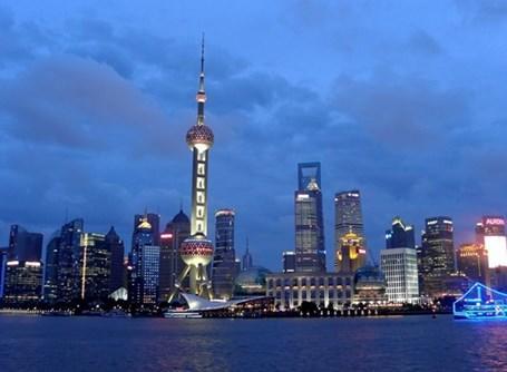 Shanghais skyline