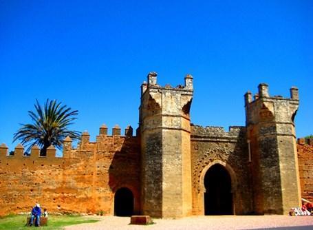 Den smukke hovedstad Rabat