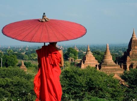 Lokal indbygger i Myanmar