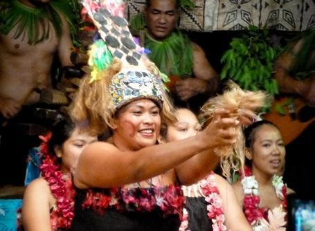 Lokal samoansk kvinde
