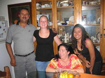 Frivillig med værtsfamilie i Mexico