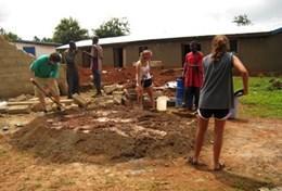 Frivilligt arbejde i Byggeprojekt