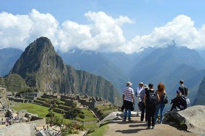 Gruppeudflugt på projekt i Peru