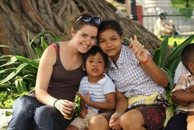Frivillig på humanitært projekt i Cambodja