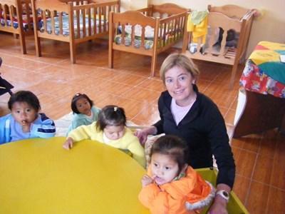 Humanitært arbejde i Peru