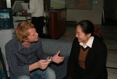 Frivillig på journalistisk projekt i Kina