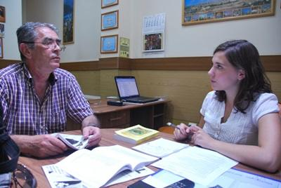 Frivillige på journalistisk projekt i Rumænien