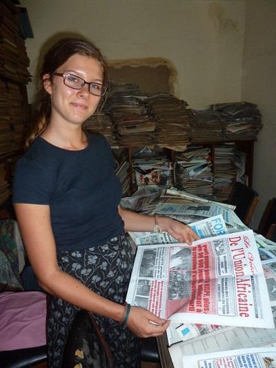 Journalistisk arbejde i Togo