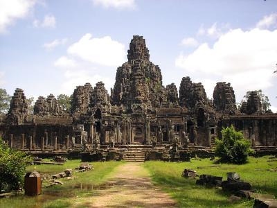 Angkor Wat i Cambodja
