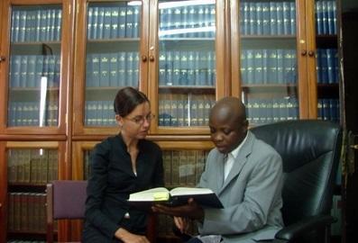 Frivillig på jura-projekt i Ghana