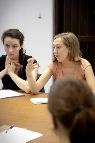 Frivilligt arbejde med jura i Sydafrika