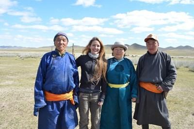 Frivillig på nomadeprojektet i Mongoliet