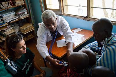 Frivilligt arbejde med medicin i Tanzania