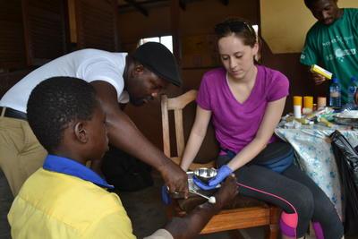 Frivilligt arbejde med farmaci i Ghana