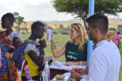 Frivilligt arbejde med Farmaci i Kenya