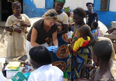 Folkesundhedsprojekt i lokalsamfund i Ghana