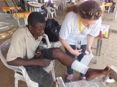 Frivilligt arbejde og praktikophold med folkesundhed i Togo