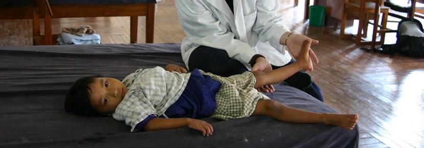Fysioterapeutisk arbejde med børn