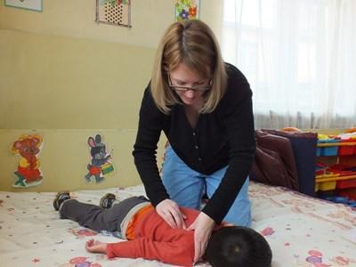 Frivillig på fysioterapi-projekt i Mongoliet