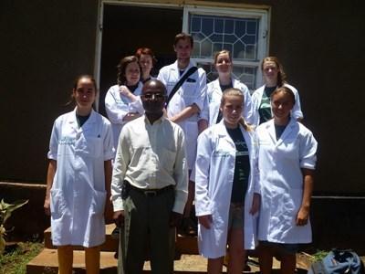 Frivillige på projekter inden for Medicin og Sundhed