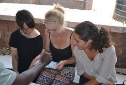 Frivilligt arbejde i HIV/AIDS Projekt