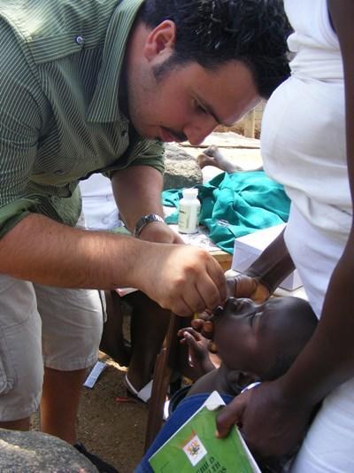 Frivillig på odontologi-projekt i Ghana