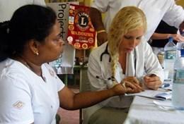 Frivilligt arbejde i Sri Lanka