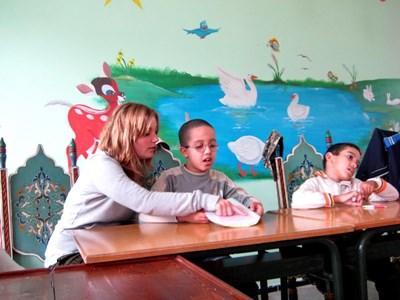 Frivilligt arbejde med taleterapi i Marokko